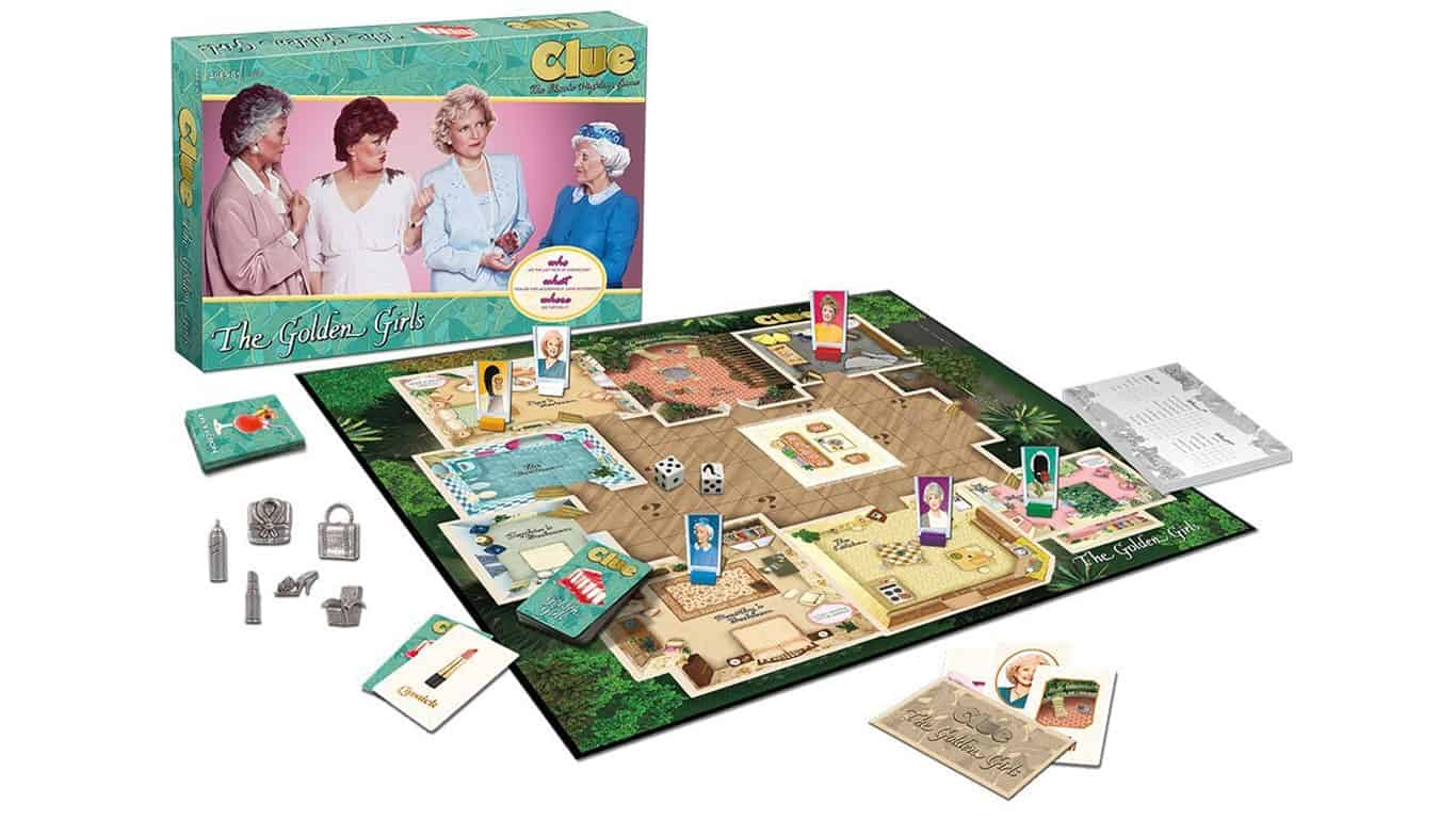 Clue The Golden Girls Board Game