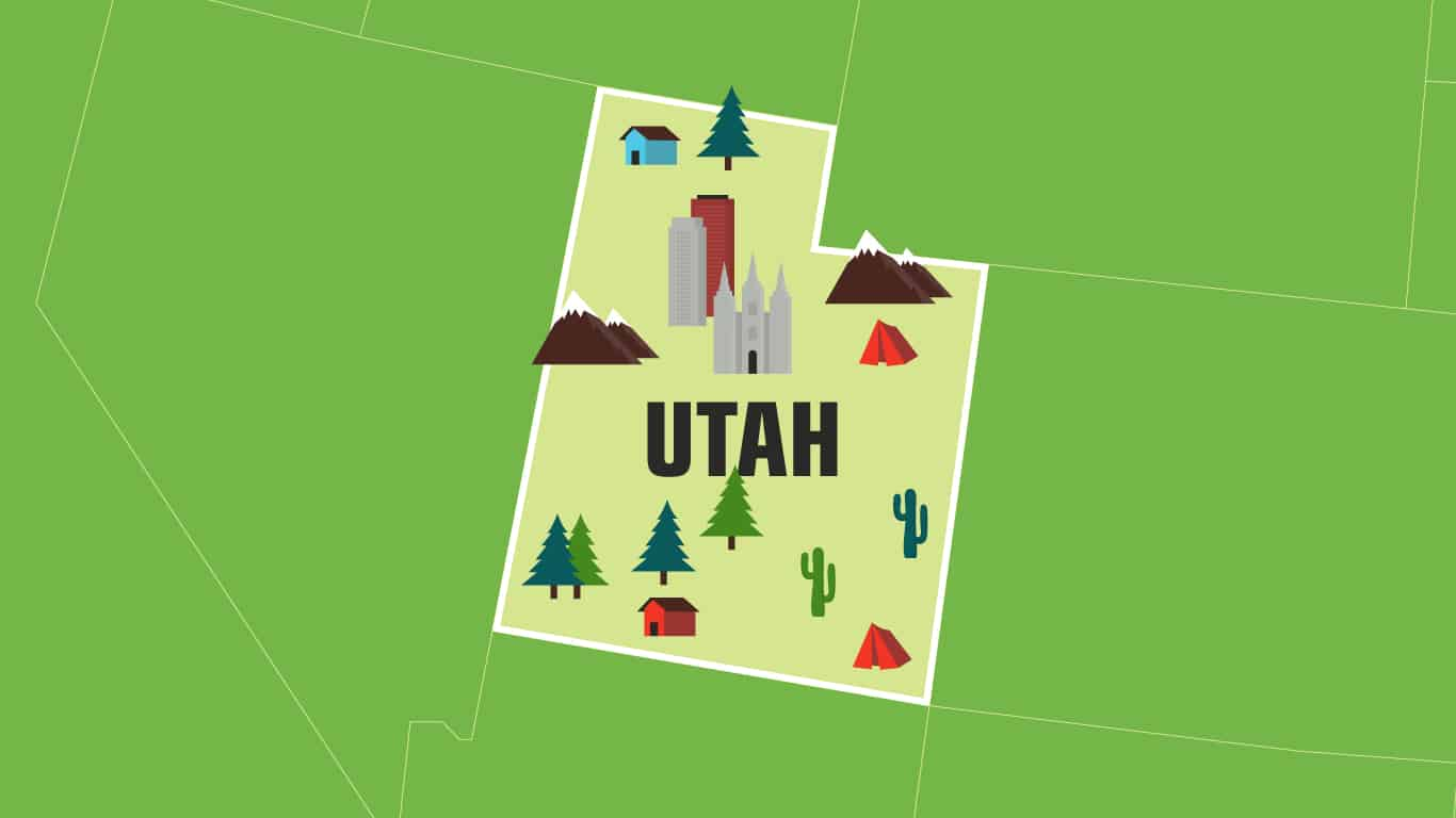 Illustration of Utah.