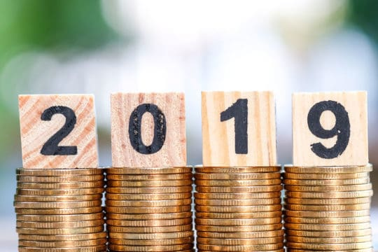 2019 financial goals