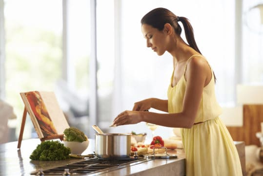 If you're cooking a meal for the firs time, don't do it on a busy night